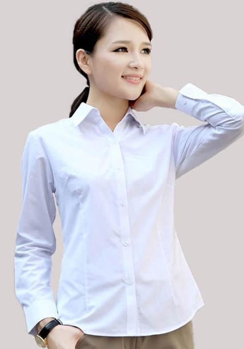 职业装女衬衫订做