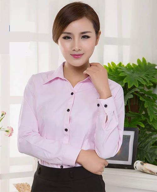 商务白领女衬衫