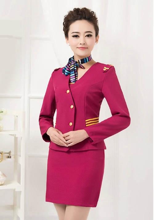 空姐制服职业套装